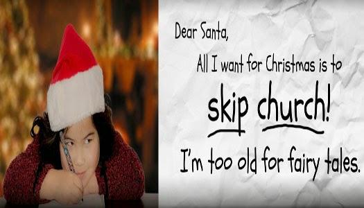 Ateos hacen campaña contra la Navidad
