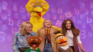 Dixie Chicks sings No Letter Better Than B, with Bert, Big Bird and Baby Bear. Sesame Street Alphabet Songs