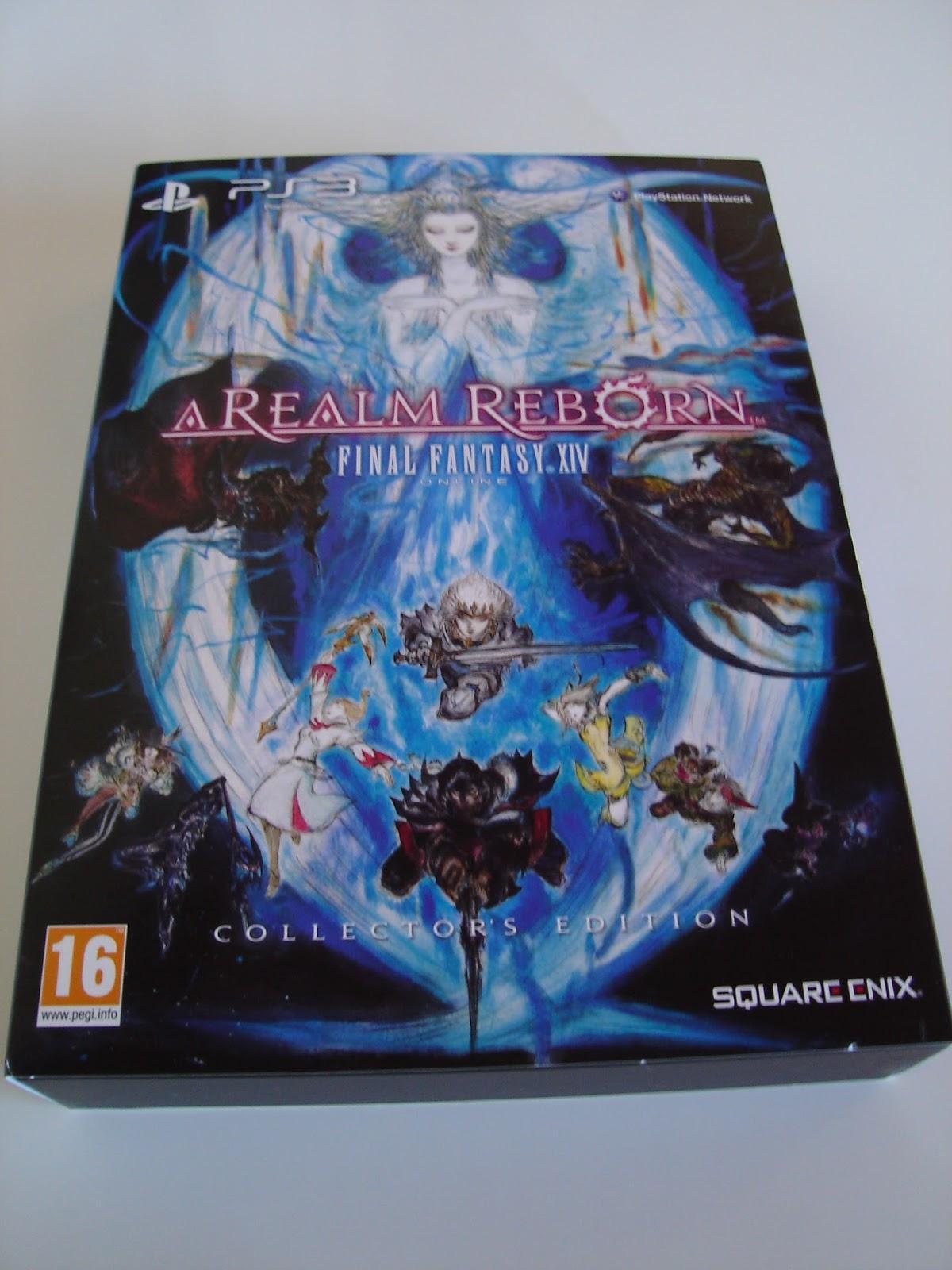 A Realm Reborn: Final Fantasy XIV Collector's Edition PAL