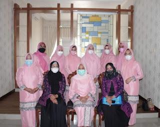 kunjungan Organisasi GOW Tebo Disambut Isteri Wakil Bupati Batanghari