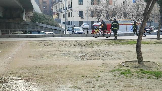 Bomberos de Madrid, Rescate, Unidad Anfibia, Manzanares, Madrid-Río, Garceta,