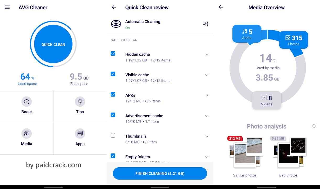 AVG Cleaner Pro Mod Apk 5.4.0