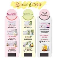 (Beli 2 Free mug) Glumory Beauty Drink Minuman Pemutih Original BPOM
