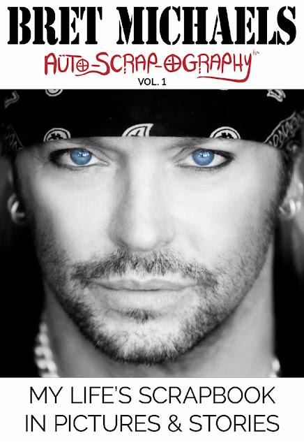 ESPECTÁCULO: Súper estrella del rock Bret Michaels lanza su primer libro: Bret Michaels: Auto-Scrap-Ography