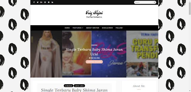 Wajah Baru Blog Faiq Najmi