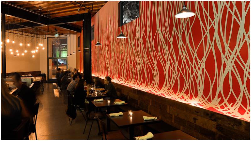 Restaurant Interior Design Maximiliano Los Angeles Freeland Buck