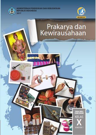 Buku Paket Prakarya Kelas 10 Semester 2