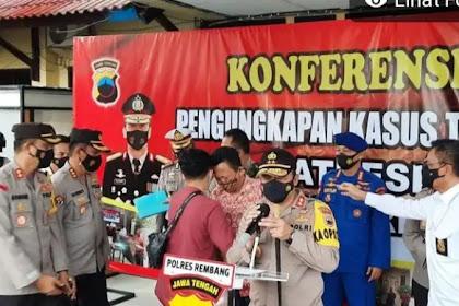 Polisi tangkap pembunuh satu keluarga seniman di Rembang