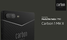Carbon1 Mark II is the first smartphone in the world made of carbon fiber