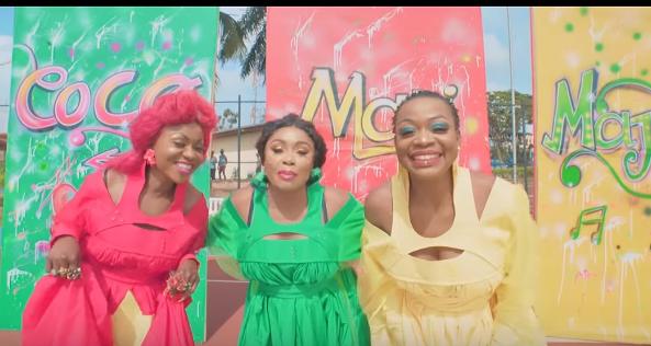 """Vidéo - """"4 Vérités"""" le clip qui réunit Coco Argentée, Mani Bella, Majoie Ayi"""
