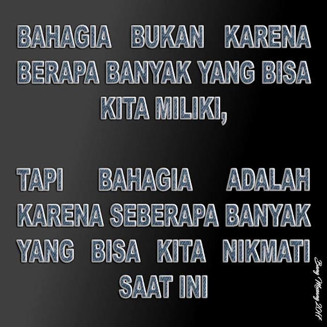 kata mutiara islam tentang apa yang kita miliki