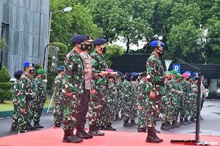 PANGKOARMADA II Hadiri Upacara Pembukaan Gelar Operasi Gaktib dan Yustisi TA 2021
