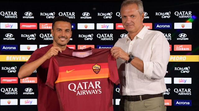 Tinggalkan Chelsea, Pedro Gabung AS Roma