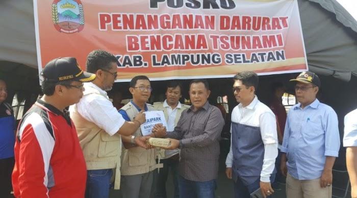 PT.Reasuransi MAIPARK Peduli Salurkan Bantuan Korban Tsunami