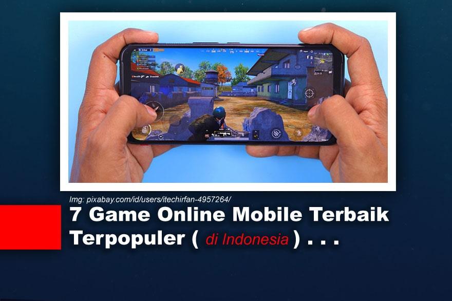 Gambar Ilustrasi Game Online Mobile Terpopuler di Indonesia