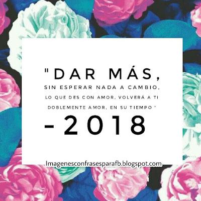 Imagenes para dedicar en el 2018