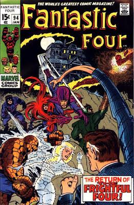 Fantastic Four #94, the Frightful Four