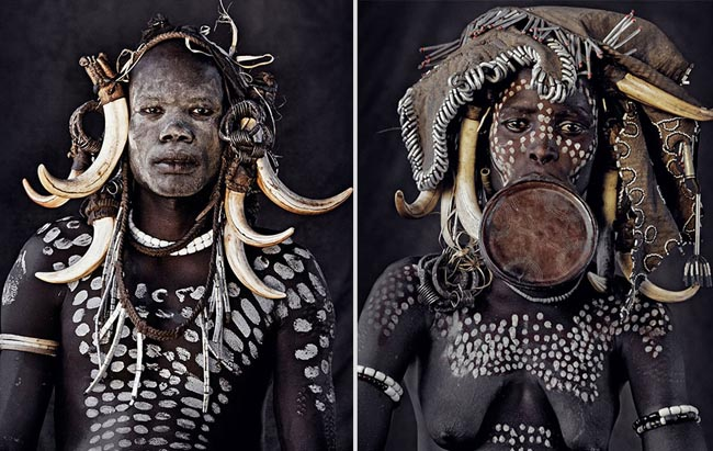 46 Must See Stunning Portraits Of The World's Remotest Tribes Before They Pass Away - Mursi, Ethiopia