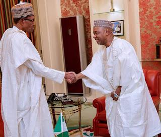 Former VP Sambo visits President Buhari