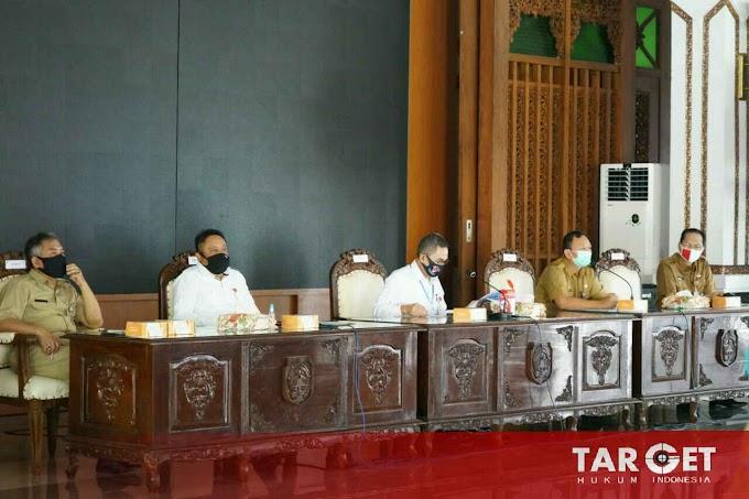 Rakor Evaluasi Covid-19 Digelar, Bupati Haryanto Singgung Soal Teknis Peringatan 1 Muharam