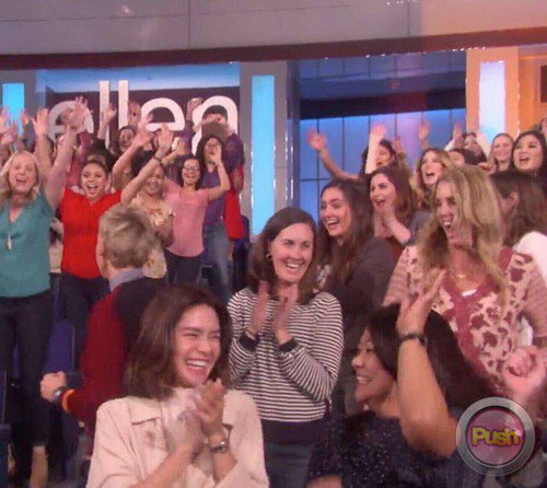 MUST SEE: Erich Gonzales Visits the Set of The Ellen DeGeneres Show and F.R.I.E.N.D.S.!