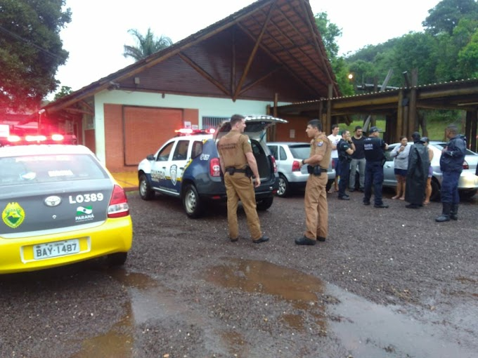 POLICIA MILITAR E GUARDA MUNICIPAL PRENDE INDIVIDUO EM TOLEDO