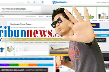 Hilangkan Situs Tribun News Yang Menggangu