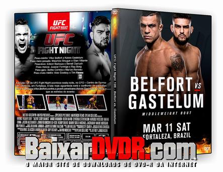 UFC Fight Night 106 – Belfort vs. Gastelum (2017) DVD-R