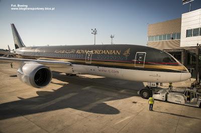 Boeing 787-8, JY-BAA, Royal Jordanian