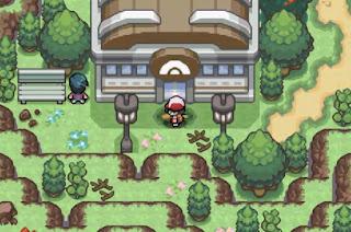 Pokemon Giratina Legend para GBA Gimansio Pokemon