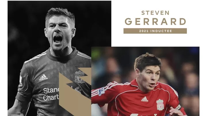 OFFICIAL: Steven Gerrard has been inducted into the Premier League Hall of Fame