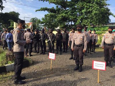 Polres Amankan Pelantikan Bupati dan Wakil Bupati Lombok Utara