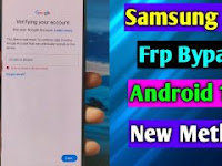 Cara Atasi Lupa Akun Google Samsung A72 - FRP Bypass