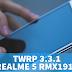 TWRP 3.3.1 Unofficial Untuk Realme 5 RMX1911