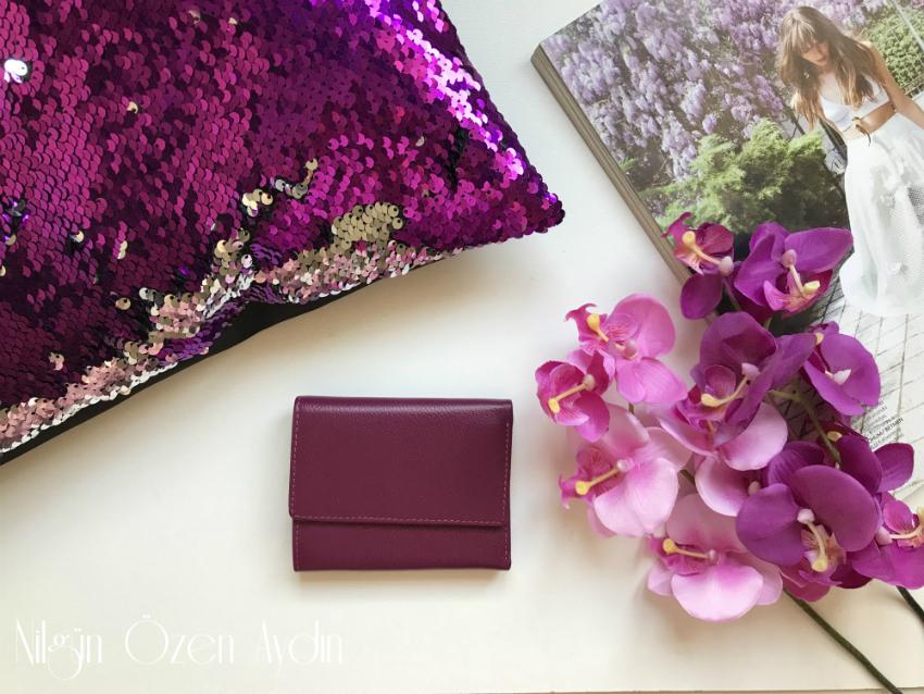 alışveriş-Kinzd Cüzdan Ve Makyaj Çantası-deri cüzdan