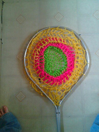crochet, fishing net, gag project, Lost Crochet Files