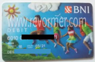Kartu ATM / debit BNI Taplus Anak
