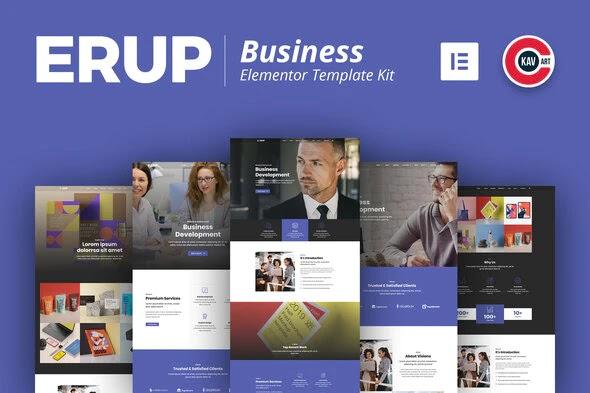 WordPress Elementor Template Kit