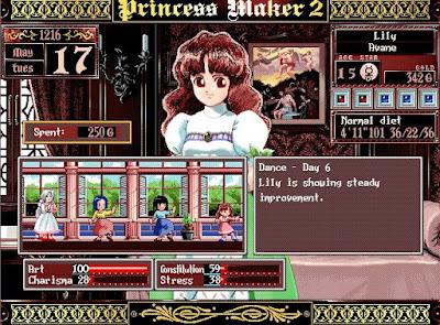 Princess Maker 2 Dance Class