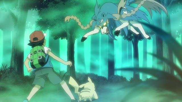 Pokemon Viajes capitulo 42 latino: ¡Espada y escudo! ¡El bosque Oniria!