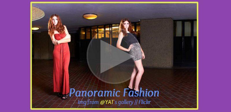Panoramic Fashion: Visor Css de imagen panorámica v.2