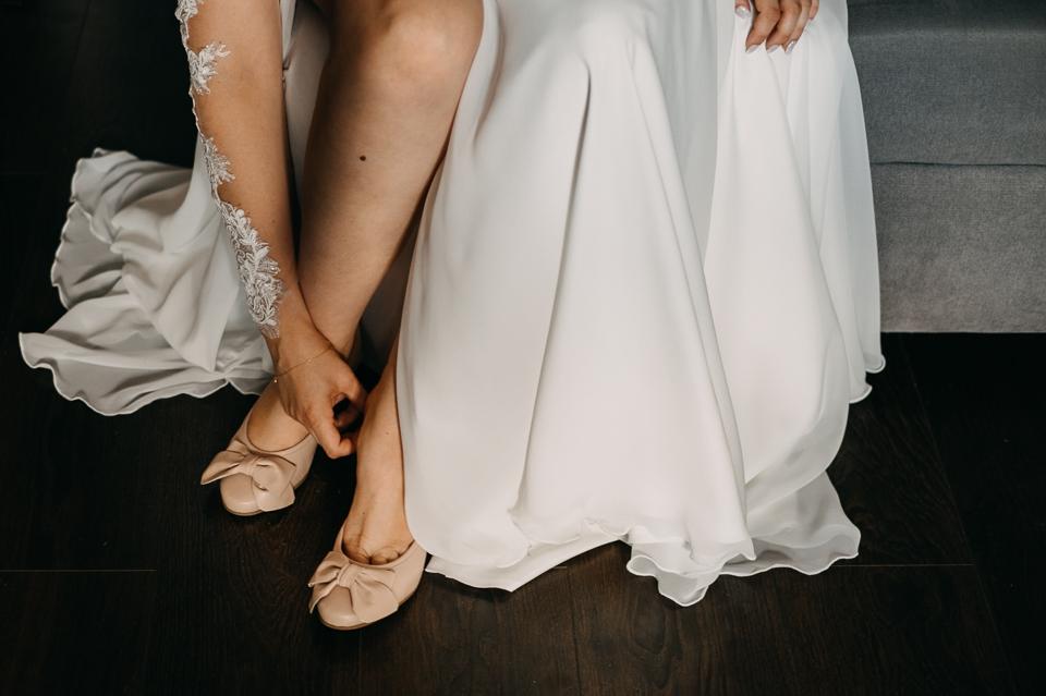 balerinki na ślub