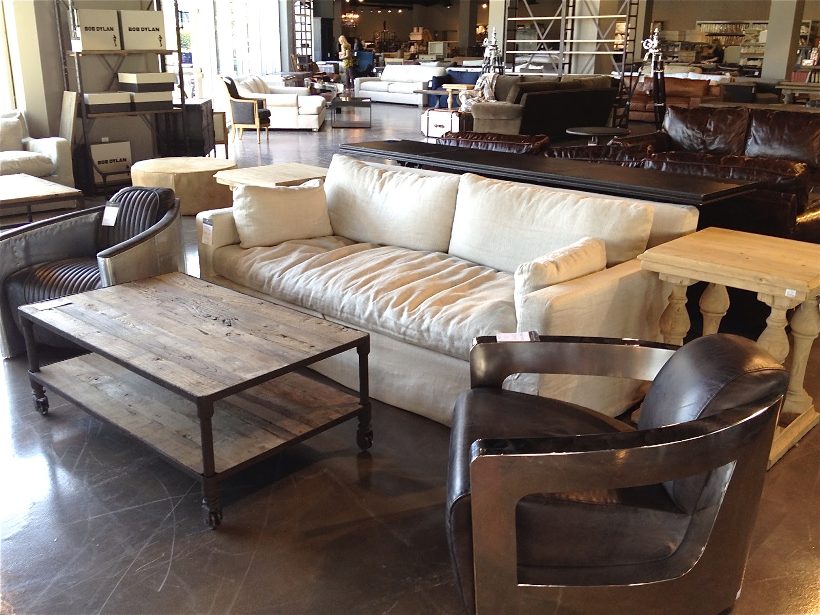 Furniture Restoration Hardware Outlet Window Shopping The