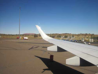 Uluru From Ayers Rock Airport.