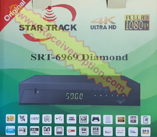 1506LV STAR TRACK SRT-6969 DIAMOND HD RECEIVER NEW SOFTWARE