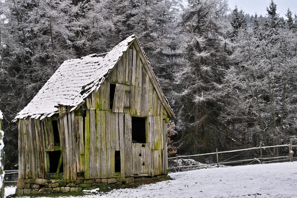 Sigma DP2 Merrill – Windschiefe Hütte