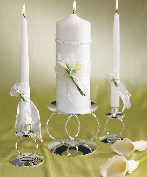 "Wedding Candles: ""Simplicity Is The Keynote Of All True Elegance."" : Candle"