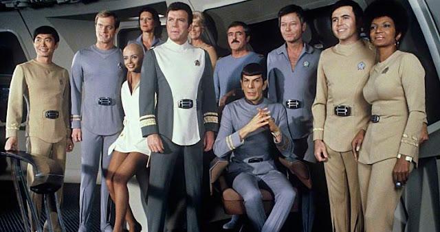 USS Enterprise crew in Star Trek: The Motion Picture