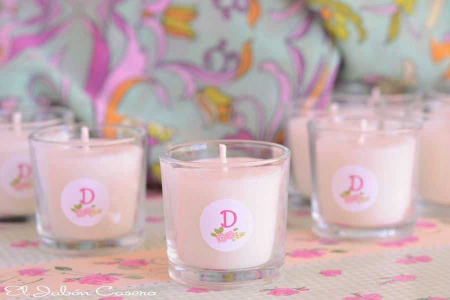 detalles comunion niña velas naturales perfumadas