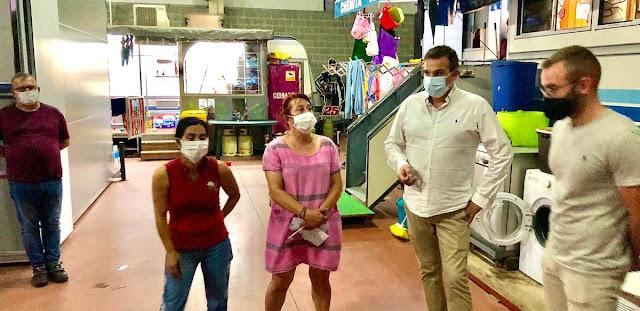 Familias que viven de las atracciones de feria en Barro se quejan de la escasa ayuda municipal